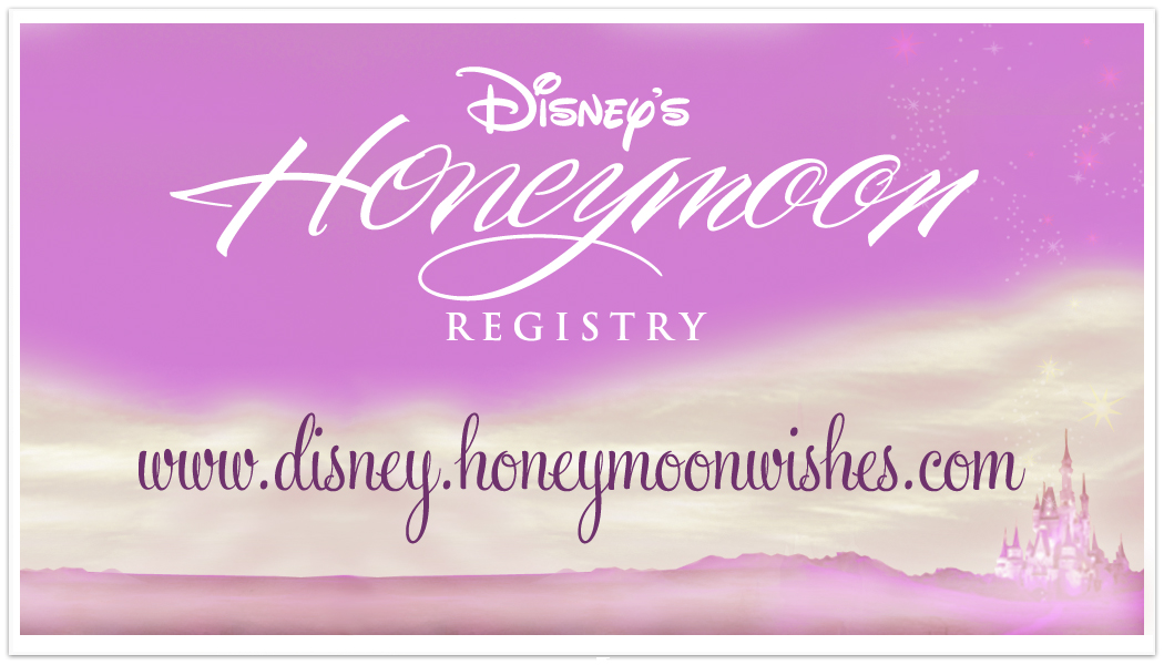 Disney Honeymoon Wishes