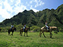 Kualoa Ranch Experience: Private Beach & Horseback Riding