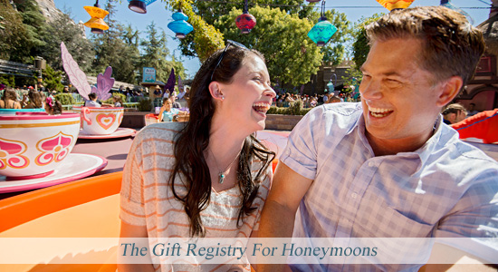Disney Fairy Tale Wedding and Honeymoons - The Gift Registry For Honeymoons
