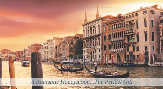 A Romantic Disney Honeymoon - The Perfect Gift