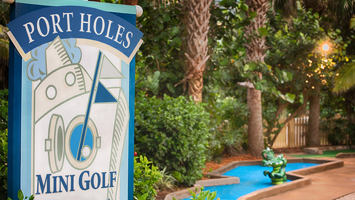 Port Holes Miniature Golf