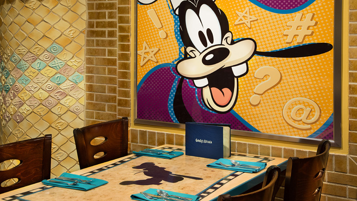 Character Dining at Goofy's Kitchen
