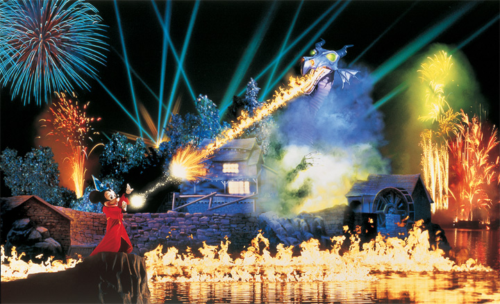 Fantasmic! Premium Viewing
