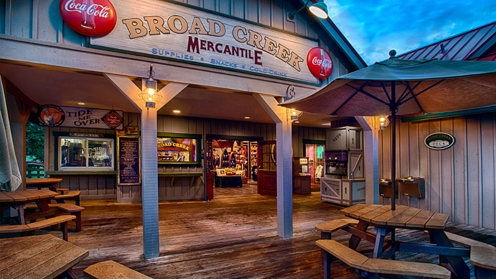Shopping at Broad Creek Mercantile