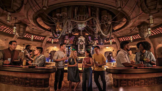 Oga's Cantina at Star Wars: Galaxy's Edge