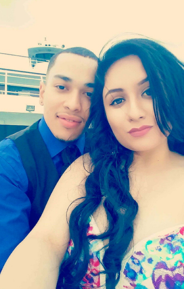 Elizabeth Villalpando and Alberto Cotto Jr